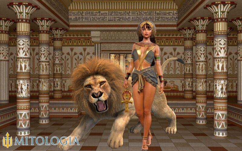 Neftis (Nephthys) ––∈ La seductora de Osiris