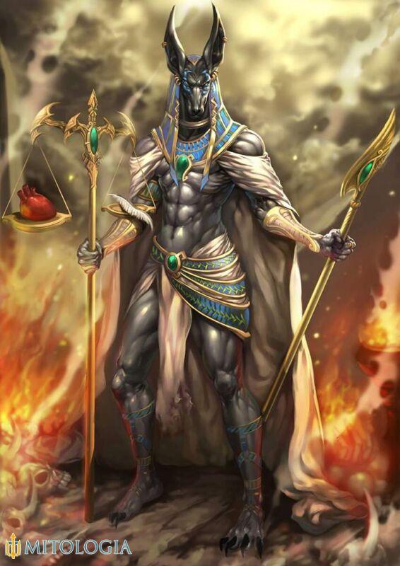 Anubis. El dios egipcio de los muertos y la momificación