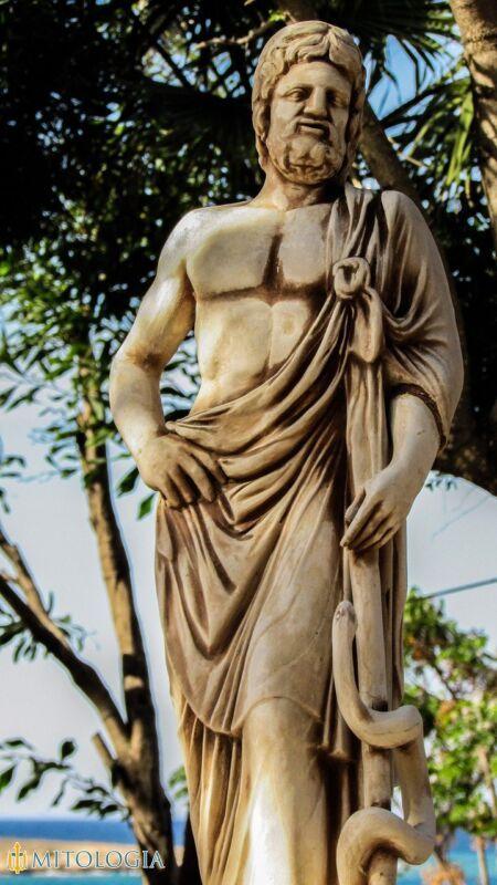 Asclepio, Dios de la medicina griega