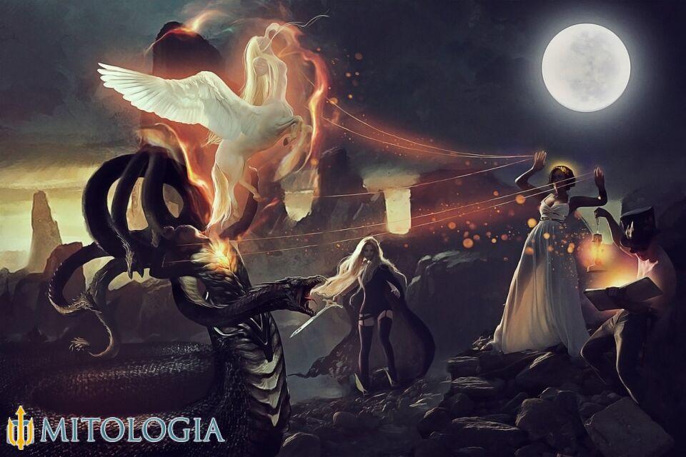 Atenea ––∈ La diosa griega de la sabiduría, la artesanía y las artes de la guerra