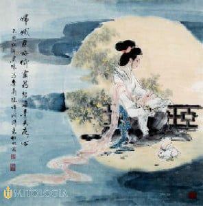 La diosa china Chang'e