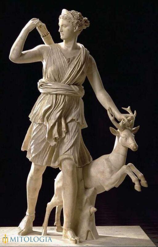 La mitológica diosa Diana