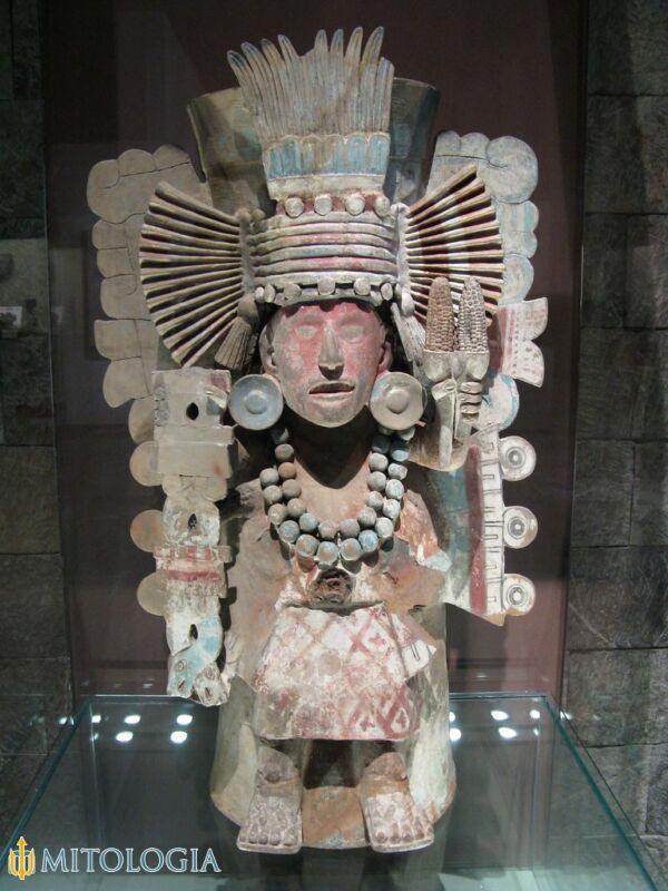 Tlaloc / Dios azteca de la lluvia