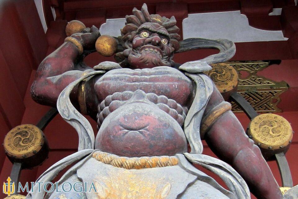 Dios japonés Raijin