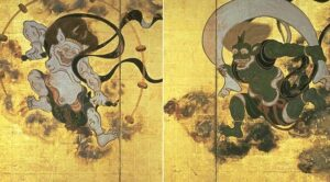 Fujin ––∈ El dios japonés del viento