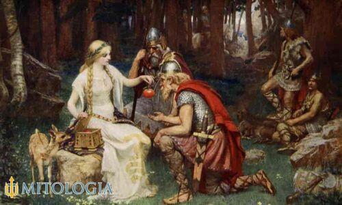 Idun ––∈ La diosa nórdica de la juventud y la fertilidad