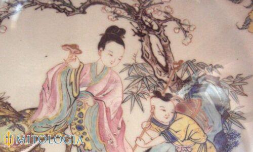 Jiutian Xuannu ––∈ La diosa china de la guerra, la longevidad y el sexo