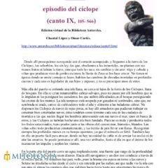 La Odisea: Libro IX