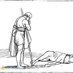 La Odisea: Libro XVII