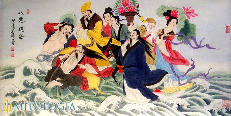 Los 8 heroes inmortales Chinos