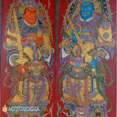 Menshen ––∈ Los dioses chinos de la puerta