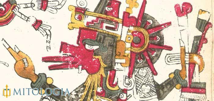 Mixcoatl dios de caza Azteca