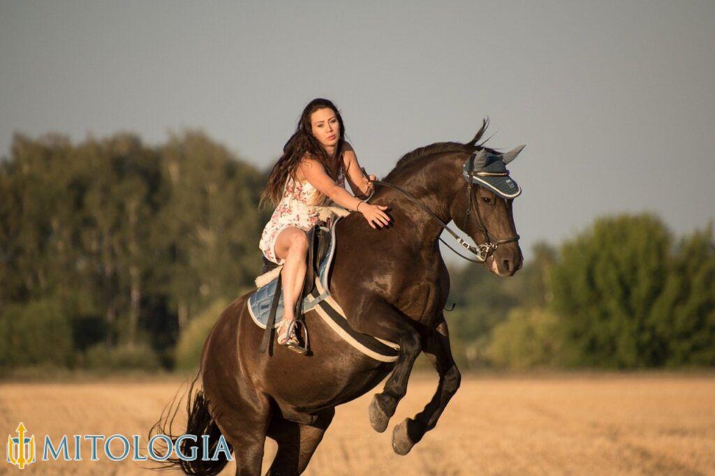 Rhiannon era la diosa galesa del caballo.