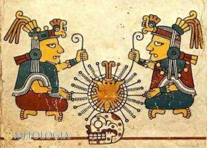 Ometeotl ––∈ El dios dual Azteca de la creación