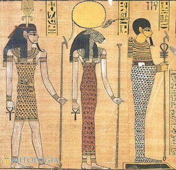Relación de Ptah y Osiris