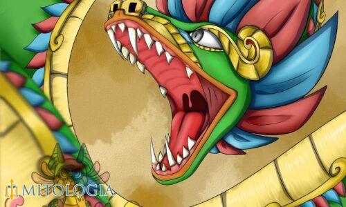 Quetzalcoatl ––∈ El dios azteca del viento