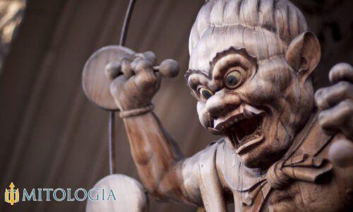 Raijin ––∈ El dios japonés del trueno