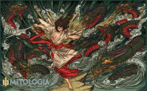 Susanoo ––∈ El dios japonés del mar y las tormentas