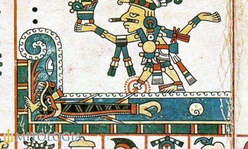 Tezcatlipoca ––∈ Uno de los dioses aztecas creadores del mundo