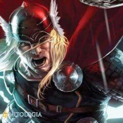 Thor ––∈ El dios nórdico del trueno y el rayo