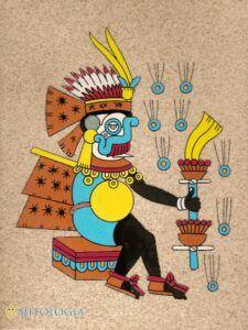 Tlaloc ––∈ El dios azteca de la lluvia