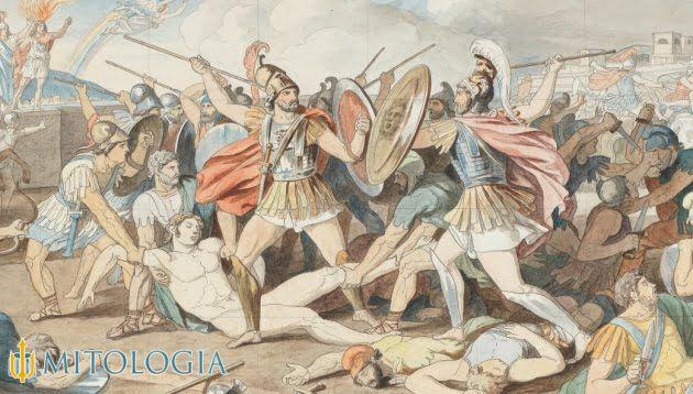 Troya y su guerra con Grecia