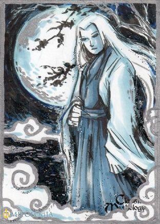 Dios Tsukuyomi de Japón