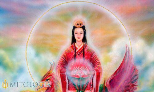 Xihe ––∈ La diosa solar china