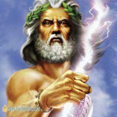 Zeus ––∈ El rey de los Dioses griegos